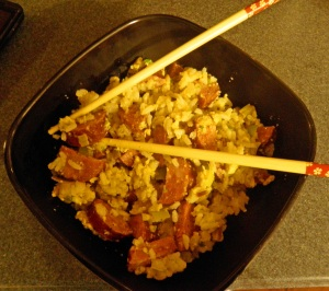 Sausage Fried Rice